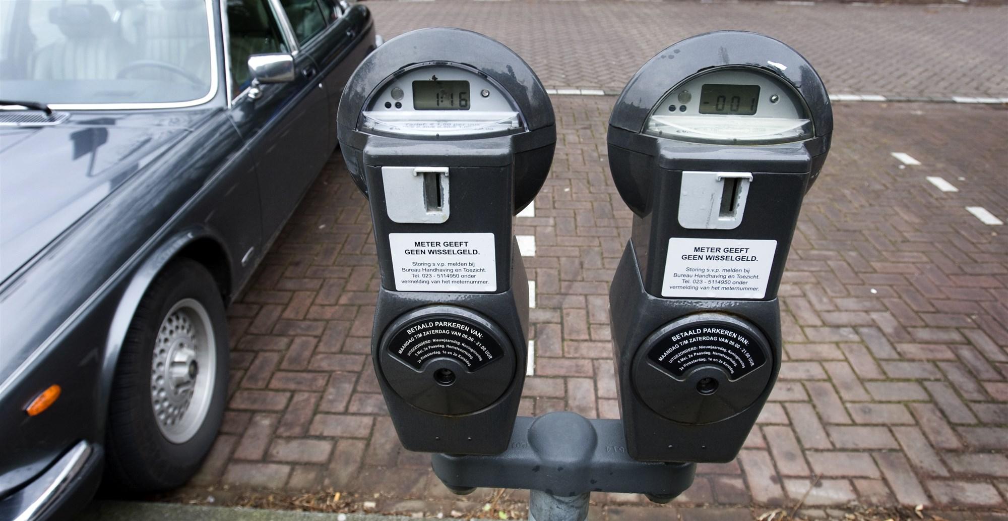 parkeermeter parkeren muntgeld