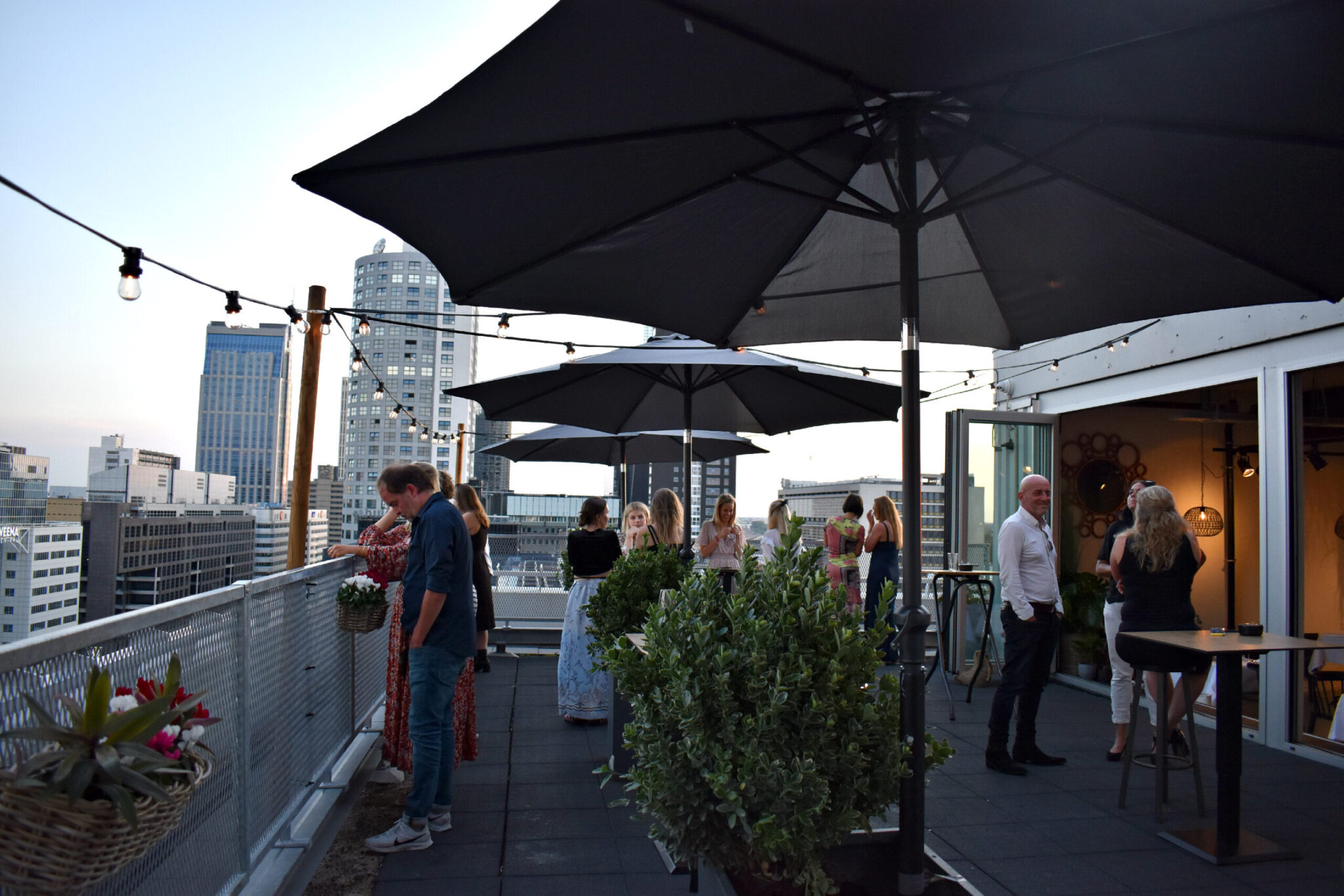 rooftopbar rotterdam
