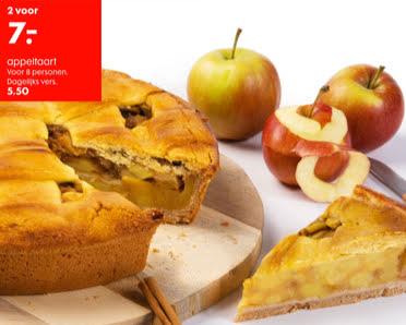 appeltaart aanbieding hema