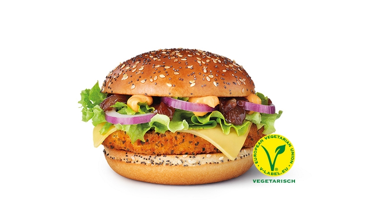 Veggie Homestyle Crispy Chicken McDonald's
