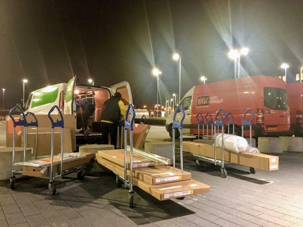 one man delivery ikea