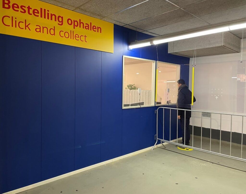 click & collect ikea