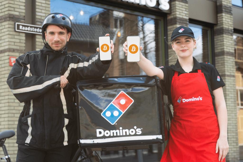 BTC direct salaris in bitcoin domino's pizza